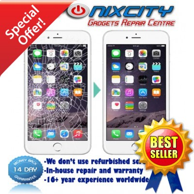 iPhone 7 LCD / BLACK Touch Screen Repair Service