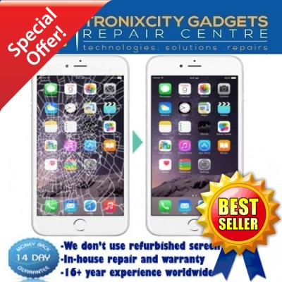 Apple iPhone 5 LCD / WHITE Touch Screen Repair Service