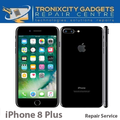 Apple iPhone 8 Plus LCD / Touch Scree Repair Service white